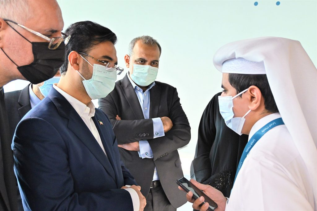 The visit of Iranian Minister of Information and Communications Technology