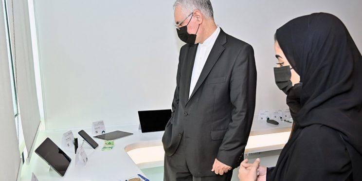 The visit of H.E Mr. Hamid Reza Dehghani, Ambassador of Iran in Qatar